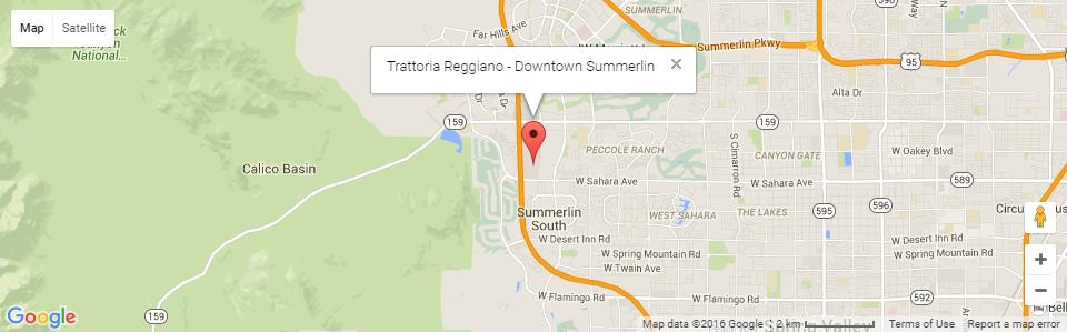 Trattoria Reggiano - Summerlin Location - Trattoria Reggiano on